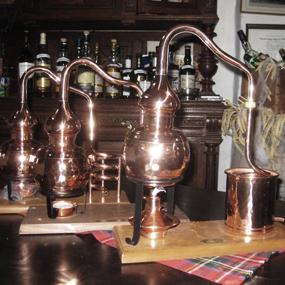 Schwäbische Whisky-Destillen
